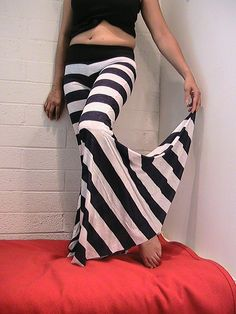 91c2445e1 Stripes and bell bottoms. What a wonderful union