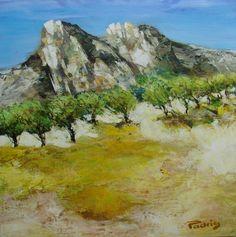 paysage-des-alpilles-50X50
