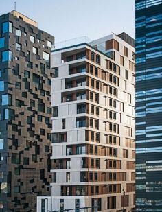 High-Rise Housing Block in Oslo, MAD Arkitekter AS multifamily housing