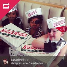 National Talk Like a Pirate Day at Krispy Kreme (in Sept)!  Dress up and get a free dozen!