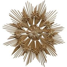 Christmas Straw Ornament - Large Star Style # B, 11 inches Straw Decorations - Gifts, Christmas - By Straw Products - 644527112664 at Polart - PolandByMail