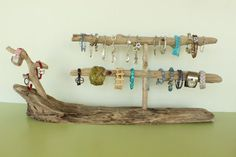 driftwood jewellery display - Google Search