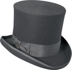 Mens Grey Victorian Top Hat http://www.vintagedancer.com/victorian/victorian-mens-clothing/