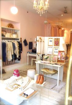 Love the look. Beautiful shop layouts by @Blush Shop 'Lovely and Chic: Blush...Inside & Out!'