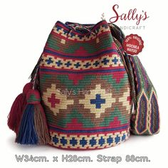 Tapestry Bag, Tapestry Crochet, Crochet Stitches, Knit Crochet, Crochet Patterns, Mochila Crochet, Boho Bags, Crochet Handbags, Pretty Patterns