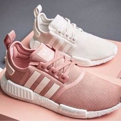 8ab12d69924  adidas  pink  white  workout  shoes  fit  cute  new