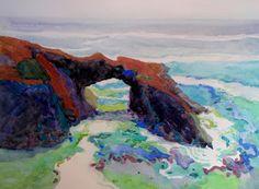 Robin Purcell AWS,NWS,MCWA Signatures. California Art Club Artist. Signature Artist Laguna Plein Air Painters Association.   California watercolor landscape painter. Plein Air and Studio Works.