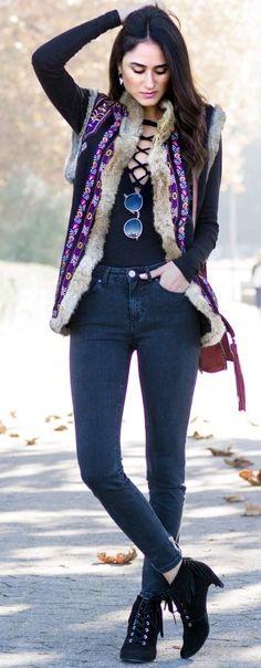 Soraya Bakhtiar Pop Of Light On Darkness Fall Street Style Inspo #Fashionistas