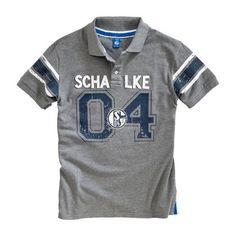 Poloshirt used FC Schalke 04 - #Bundesliga, #Bekleidung, #Soccer, Fußball, #Fanartikel, #Freizeit - http://www.multifanshop.de