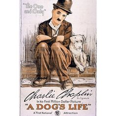 (11x17) A Dog's Life Movie Charlie Chaplin Poster Print *** More info could be found at the image url.