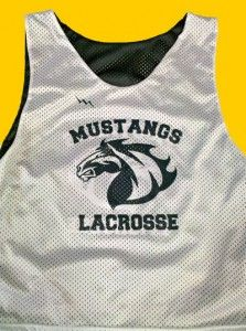 shop Mustang Lacrosse Pinnies - Mustang Lacrosse Reversible Jerseys - Mustang Lax Pinnies