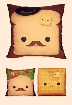 Like who wouldn't want a pillow toast ? omg this looks like fun ! :D
