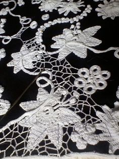 Ravelry: Curtain in Irish Crochet lace pattern by Nora Corallo