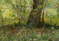 Undergrowth - Vincent van Gogh - 1887