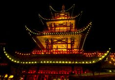 Japanese Tower by Ole  Steffensen on 500px