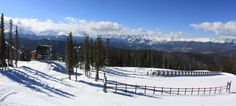 All quiet before our November 1 opening day. What a beautiful view!