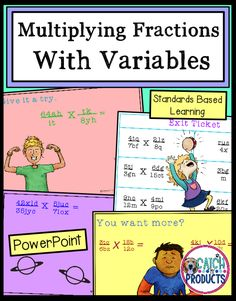 Teach with PowerPoint for solving equations with variables on both sides is great for distance learning. Multiply fractions with variables for kids in 5th or 6th grade on Teachers Pay Teachers. Easy to use, no prep math lesson for learning fraction skills. May use for school or home school. #teachersfollowteachers #teacherspayteachers (level 5, 6) #iteachtoo #education Texas Teachers #iteachmath Great for building math concepts and skills! #Teachersofthegram #iteach456 Learning Fractions, Teaching Multiplication, Math Vocabulary, Math Lesson Plans, Math Lessons, Build Math, Upper Elementary Resources, Solving Equations, Math Strategies