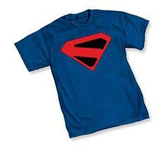 Superman t-shirt  Superman Kingdom Come symbol t-shirt