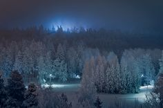 Frozen View by Mikko Lagerstedt © All rights reserved