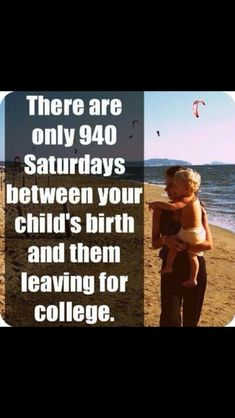 It frustrates me how so many parents pawn off their children and don't spend quality time with them. They are little for such a short time. Enjoy them!