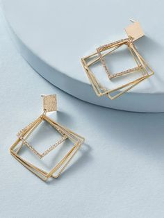 Antique Jewellery Designs, Gold Ring Designs, Fancy Jewellery, Stylish Jewelry, Cute Jewelry, Luxury Jewelry, Fashion Jewelry, Jewelry Design Earrings, Gold Earrings Designs