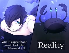 So true I was waiting to see him as a mermaid I heard his voice started squealing and then I saw what he was *started crying*