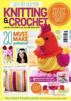 LGC Knitting & Crochet issue 73 - on sale now!