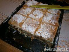Fotorecept: Jablkový koláč s pudingom