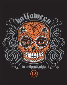 Halloween In Athens 2012 Logo Design