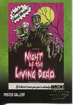 Night Of The Living Dead Gold Foil Chase Card F9 Complete Uncut Version! @ niftywarehouse.com