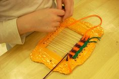 Art on the Move: Weaving on Clay Looms