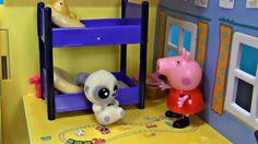 Peppa Pig en español. YooHoo visita Peppa Cerda y George. Peppa y sus am...