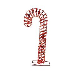 Energy Best 5' Red Premium LED Outdoor Candy Cane Sculpture (7407008) - Outdoor and Window Décor - Ace Hardware