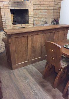 Купить Барная стойка из кедра Византийская - барстойка, барная стойка, шкаф, комод, мебель для кафе