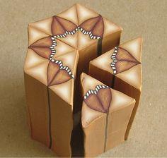 Kaleidoscope cane - how to from Jana Roberts Benzon