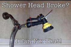 Broken Shower Head....