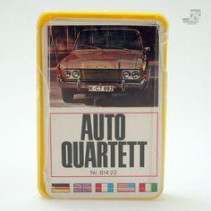 AUTOQUARTETT 814 22 FX. SCHMID Vintage / 1970's / Spielkarten / Quartett / Auto…