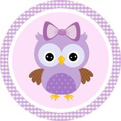 free-printable-purple-owls-kit-015.png (335×335)