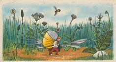 Ladislav Guderna - Janko Hraško Book Illustration, Drawings, Painting, Art, Art Background, Painting Art, Kunst, Sketches, Paintings