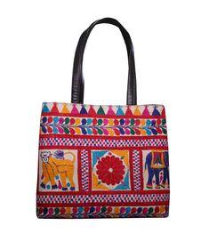 a66b1ab027 Vintage indian shoulder bag tribal tote mirror banjara embroidered hand bag
