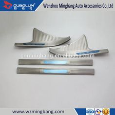 car-styling Stainless Steel Inner Door Sills Scuff Plate For Honda Civic 2016