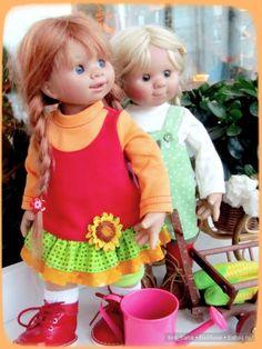 Вихтели. Что делать если уровень хулиганства зашкаливает? / Коллекционные куклы Rosemarie Anna Muller / Бэйбики. Куклы фото. Одежда для кукол