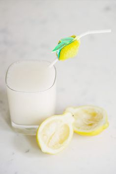 Lemon Vodka Slush: 3/4 cup Smirnoff lemon vodka and 1 pint lemon sorbet. Blend and drink. Sounds delicious!