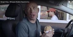 Chef Joachim Kern - Comercial 'Burger King  2014 - Whopper Rodeio #quemcriou' - 2014.