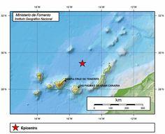 Terremoto norte de Canarias, 23 diciembre