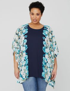 Sunset Poncho (original price, $54.00-$59.00) available at undefined