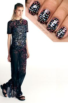 MANICURE MUSE: Preen Resort '14