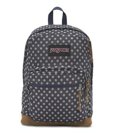 JanSport Right Pack Expressions Backpack - Navy Twiggy Dot Jacquard