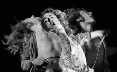 The Golden God: Robert Plant, Rainbow Theatre London, by Jill Furmanovsky.