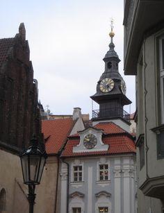 Jewish Town Hall in Josefov; Prague